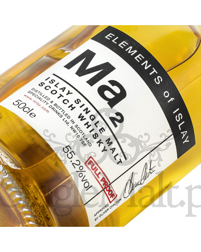 Bunnahabhain Ma2 / Elements of Islay / 55,2% / 0,5 l