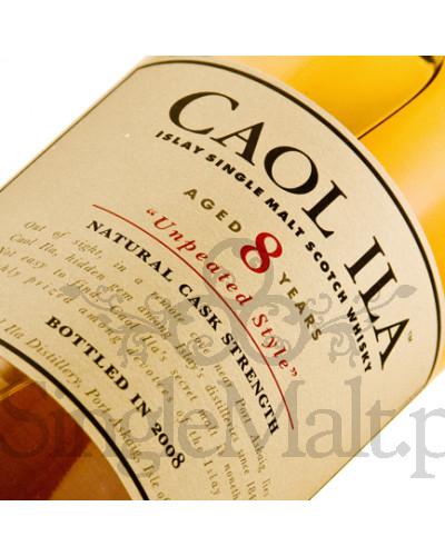 Caol Ila 8 Years Old Cask Strength / Unpeated style / 64,2% / 0,7 l