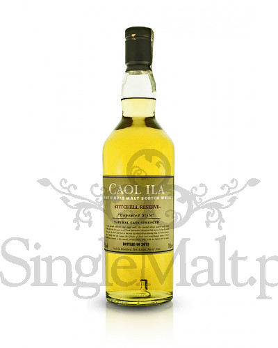 Caol Ila Cask Strength / Stitchell Reserve / Unpeated style / 2013 / 59,6% / 0,7 l