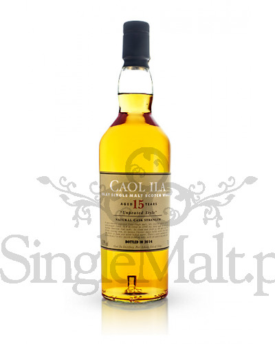 Caol Ila 15 Years Old Cask Strength / Unpeated style / 2014 / 60,39% / 0,7 l