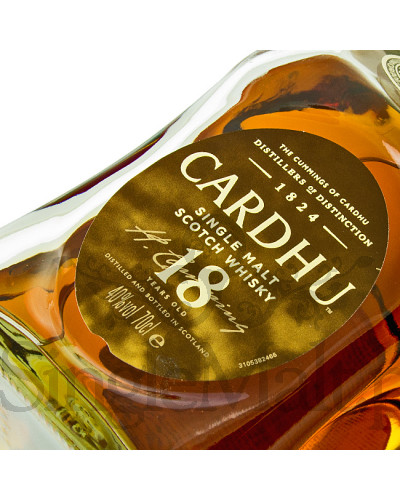 Cardhu 18 Years Old / 40% / 0,7 l