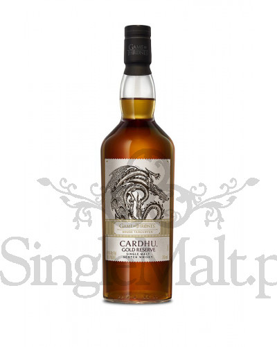 Cardhu Gold Reserve / Game of Thrones / House Targaryen / 40% / 0,7 l