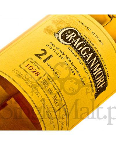Cragganmore 21 Years Old / 56% / 0,7 l