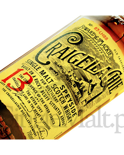 Craigellachie 13 Years Old / 46% / 0,7 l