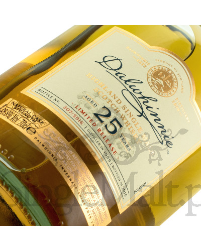 Dalwhinnie 25 Years Old / Diageo Special Release 2015 / 48,8% / 0,7 l