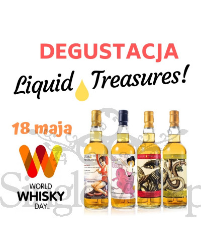 Degustacja whisky Liquid Treasures