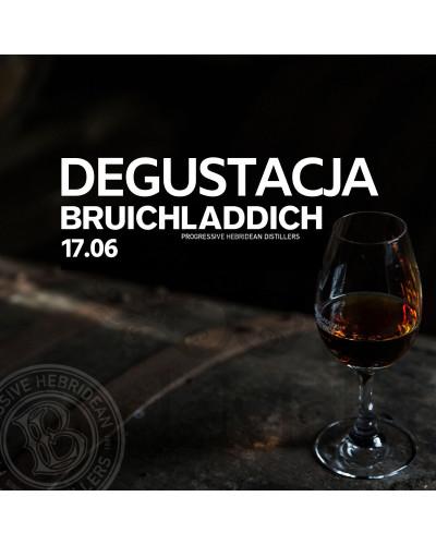 Degustacja whisky Bruichladdich