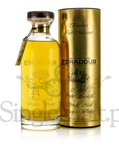 Edradour 10 Years Old / 2007 / Bourbon Cask Matured / 2018 / 60,9% / 0,7 l