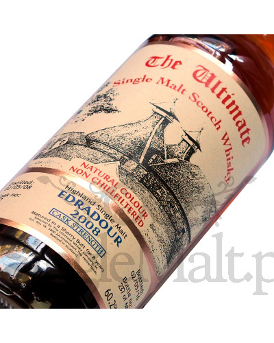 Edradour 8 Years Old 2008 / 2016 / The Ultimate / 60,2% / 0,7 l