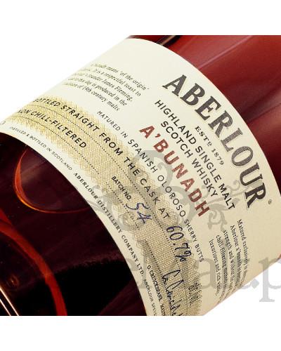 Aberlour A'bunadh (batch 54) / 60,7% / 0,7 l
