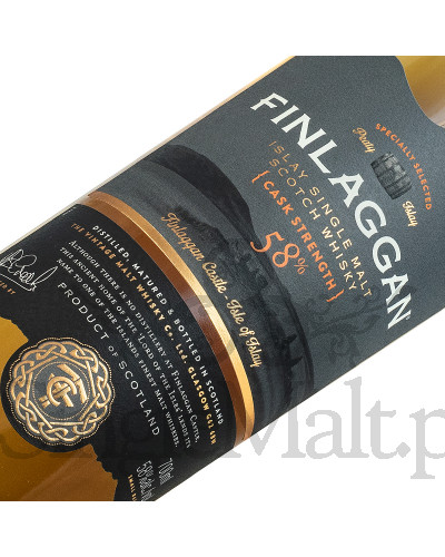 Finlaggan Cask Strength / 58% / 0,7 l