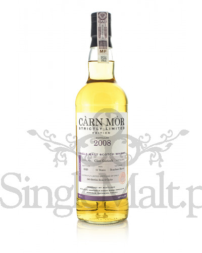 Glen Garioch 11 Years Old / 2008 / Strictly Limited Edition / 2020 / Carn Mor / 47,5% / 0,7 l