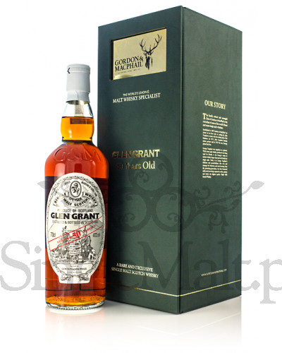 Glen Grant 50 Years Old / Gordon & Macphail / 43% / 0,7 l