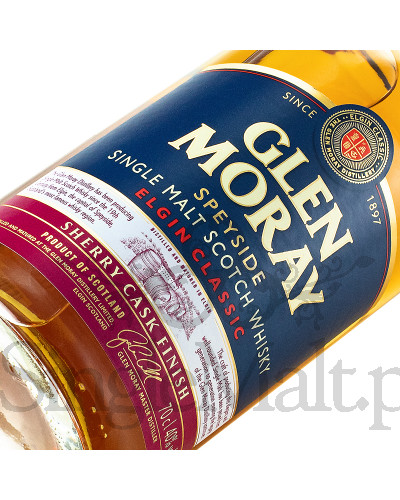 Glen Moray Classic / Sherry Cask Finish / 40% / 0,7 l