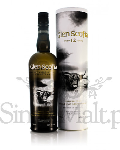 Glen Scotia 12 Years Old / 46% / 0,7 l