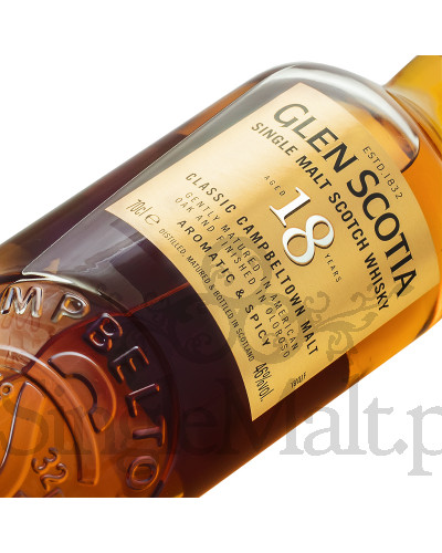 Glen Scotia 18 Years Old / 46% / 0,7 l
