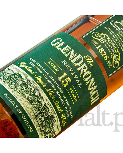 GlenDronach 15 Years Old Revival / 46% / 0,7 l