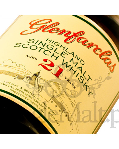 Glenfarclas 21 Years Old / 43% / 0,7 l