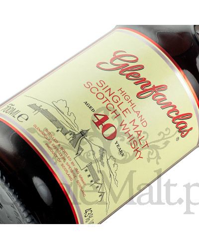 Glenfarclas 40 Years Old / 43% / 0,7 l