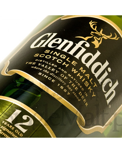 Glenfiddich 12 Years Old (etui trail) / 40% / 0,7 l