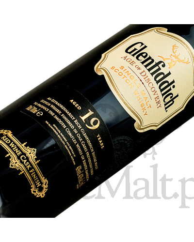 Glenfiddich 19 Years Old / Age of Discovery / Red Wine Cask Finish / 40% / 0,7 l