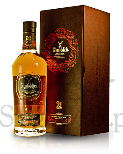 Glenfiddich 21 Years Old Gran Reserva / 40% / 0,7 l