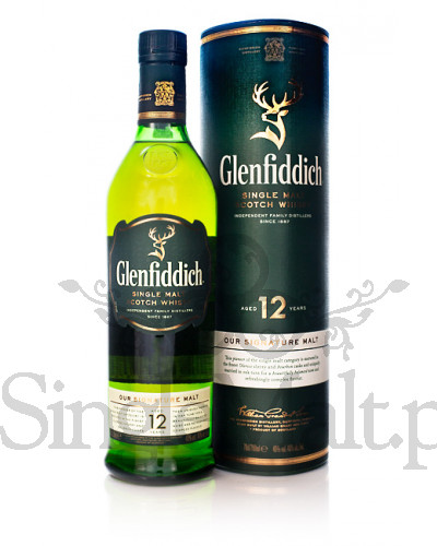 Glenfiddich 12 Years Old / 40% / 1,0 l