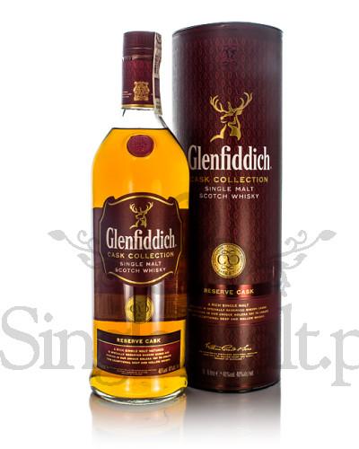 Glenfiddich Reserve Cask / 40% / mała butelka 0,2 l