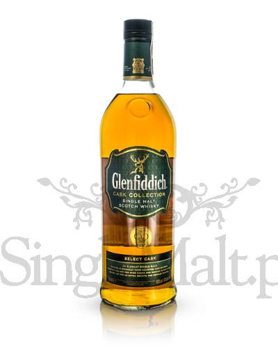 Glenfiddich Select Cask / 40% / mała butelka 0,2 l