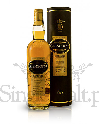 Glengoyne 12 Years Old Cask Strength / 57,2% / 0,7 l