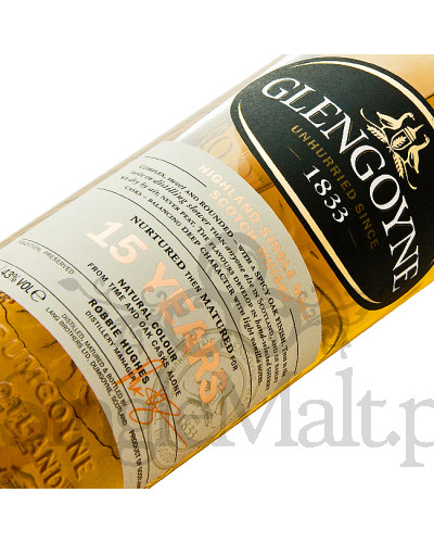 Glengoyne 15 Years Old / 43% / 0,7 l