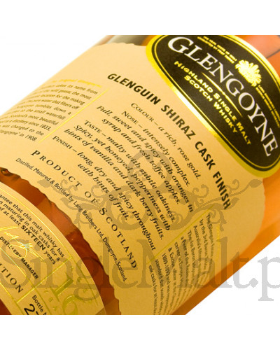 Glengoyne 16 Years Old Glenguin Shiraz Cask / 48% / 0,7 l