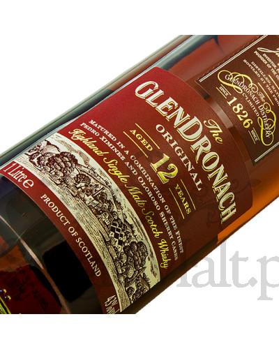 GlenDronach 12 Years Old Original / 43% / 1,0 l