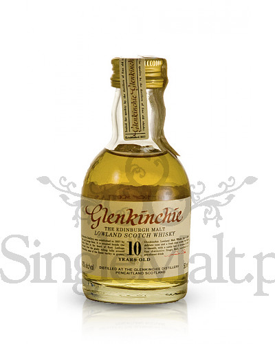 Glenkinchie 10 Years Old / 43% / miniaturka 0,05 l
