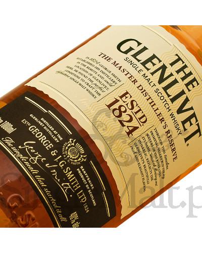 Glenlivet Master Distiller's Reserve / 40% / 1,0 l