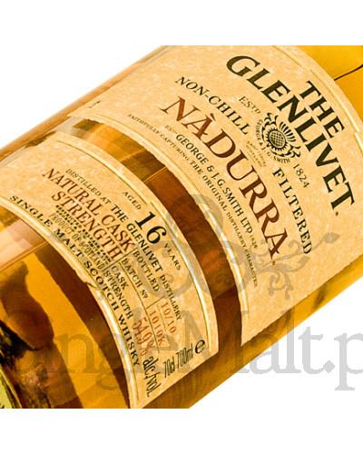 Glenlivet 16 Years Old Nadurra (batch 1210M) / 2010 / 54,5% / 0,7 l
