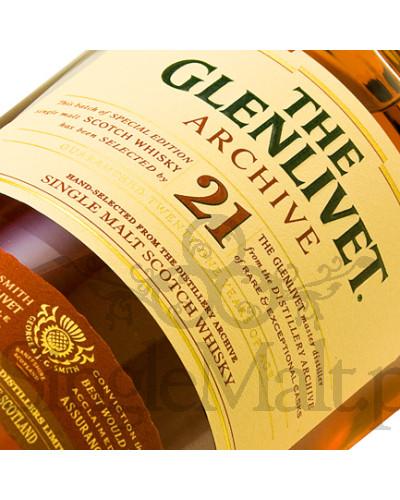 Glenlivet 21 Years Old Archive / 43% / 0,7 l