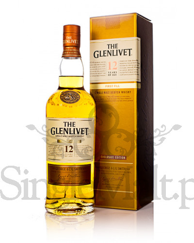 Glenlivet 12 Years Old / First Fill / 40% / 0,7 l