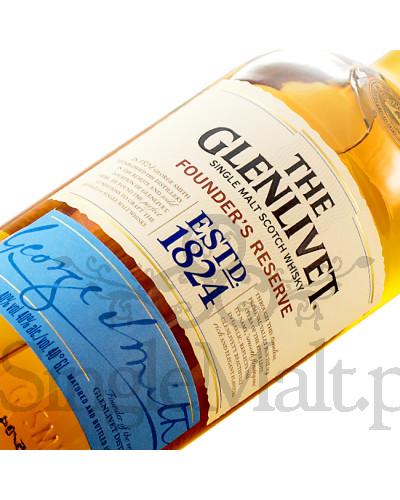 Glenlivet Founder's Reserve + 2 szklanki / 40% / 0,7 l