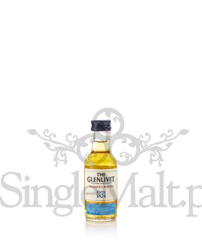 Glenlivet Founder's Reserve / miniaturka 0,05 l