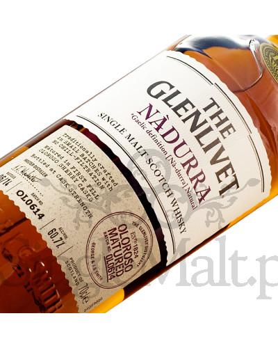 Glenlivet Nadurra (batch OL0614) / 2014 / 60,7% / 0,7 l