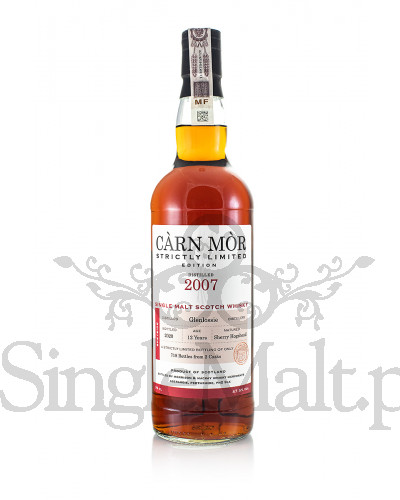 Glenlossie 12 Years Old / 2007 / Strictly Limited Edition / 2020 / Carn Mor / 47,5% / 0,7 l
