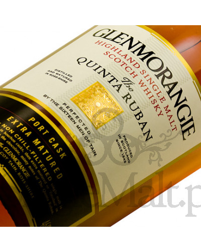 Glenmorangie 12 Years Old Quinta Ruban / 46% / 1,0 l