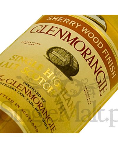 Glenmorangie Sherry Wood / 43% / miniaturka 0,05 l
