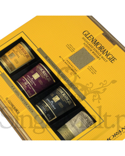 Glenmorangie Tasting Set 4x 0,1 l / 10 yo, Lasanta, Quinta Ruban, Nectar D'or