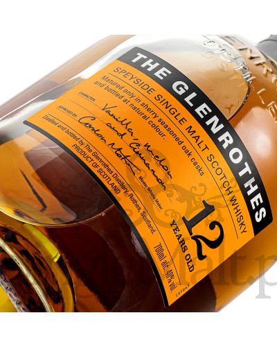 Glenrothes 12 Years Old / 40% / 0,7 l