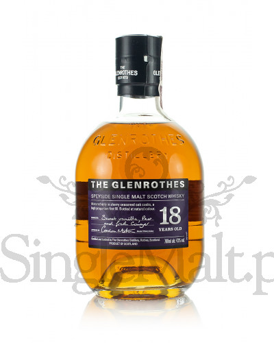 Glenrothes 18 Years Old / 43% / 0,7 l