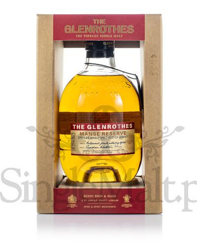 Glenrothes Manse Reserve / 43% / 0,7 l