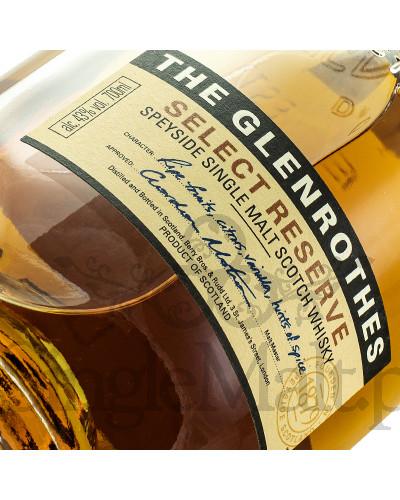 Glenrothes Select Reserve + 2 szklanki / 43% / 0,7 l