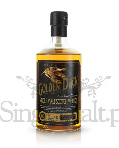 Ledaig 10 Years Old / 2001 / Golden Duck / 46% / 0,7 l